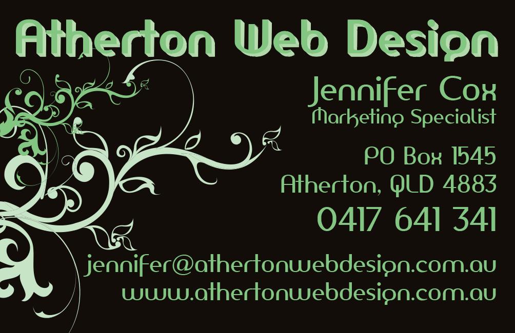 Business Cards - Atherton Web Design